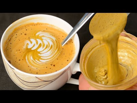 Cappuccino Coffee Without Machine – Cappuccino banane ka tarika – Creamy Coffee Recipe