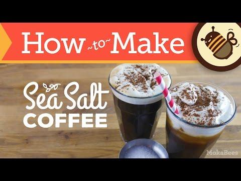 How to Make Sea Salt Coffee & Cream – Iced & Hot (Recipe)
