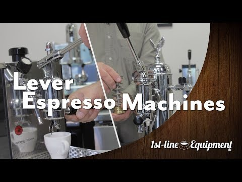 All About Lever Espresso Machines!