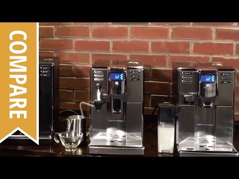 Compare: Gaggia Anima, Anima Deluxe and Anima Prestige Espresso Machines