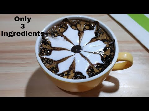 Cappuccino at Home Only 3 Ingredients Without Machine | Hot Coffee recipe ~ Bristi Home Kitchen