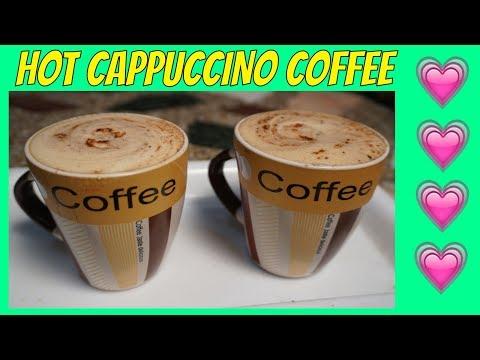 Hot coffee recipe 💗 Cappuccino coffee AT HOME 💗 Nescafe Coffee Recipe 💗 Punjabi Food