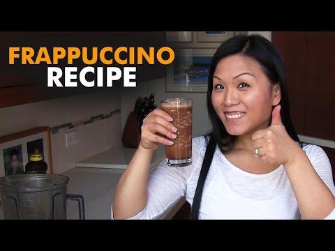 Coffee frappuccino recipe using a Vitamix