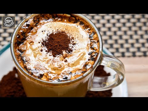 Cappuccino Coffee Recipe By Lip Smacking Food | Without Coffee Maker in 5 Minutes