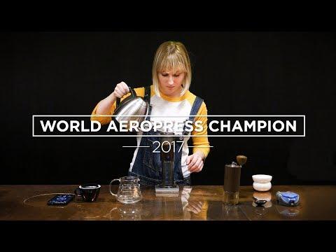 How To Make AeroPress Coffee – The Winning Recipe (WAC 2017)