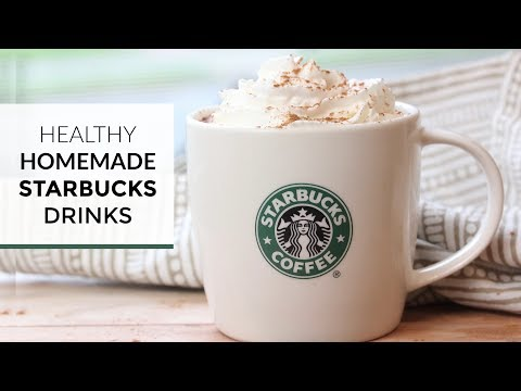 Homemade Hot Starbucks Drinks | 4 Easy Healthy Coffee Drinks