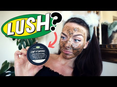 LUSH FIRST IMPRESSIONS | CUP O' COFFEE