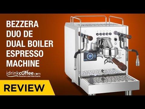iDrinkCoffee.com Review – Bezzera Duo DE Dual Boiler Espresso Machine