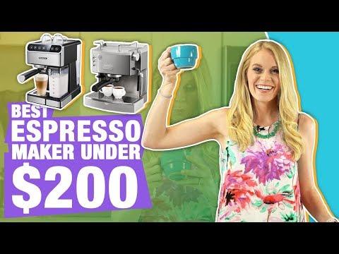 Top 5 Best Espresso Machines Under 200! (Nespresso vs DeLonghi & More)