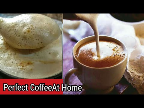How To Make Coffee Like Restaurant At Home// Hot Coffee Recipe