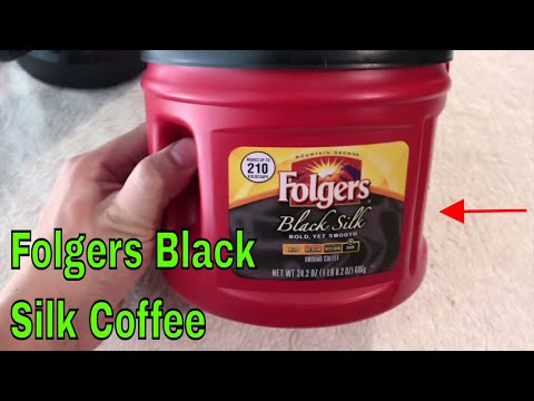 ✅  How To Use Folgers Black Silk Coffee Review