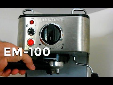 Cuisinart Espresso Machine Review – EM-100