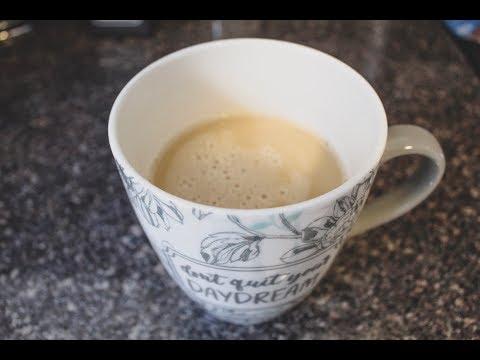 BUTTER IN COFFEE?! KETO BULLETPROOF COFFEE RECIPE!
