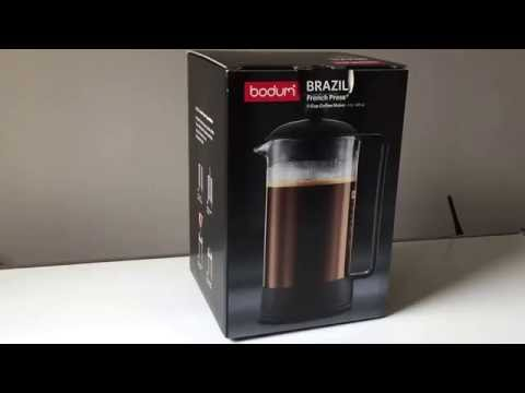 Best french press: Bodum Brazil vs Columbia coffee maker comparison