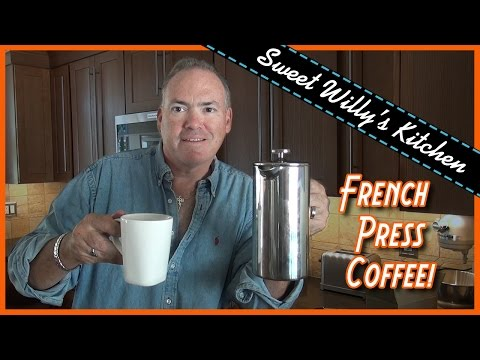 How-to Use French Press Coffee Maker – Ecooe Stainless Steel 34 oz. Press Pot Review