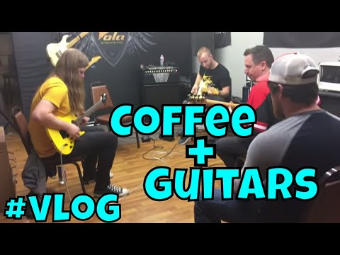 Small town Coffee Review – Robert Baker VOLA Guitar Clinic #VLOG