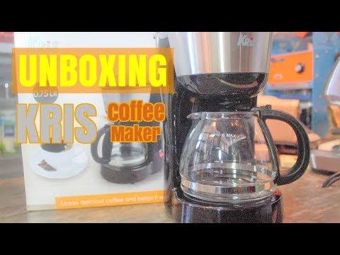Kris Coffee Maker, alat kopi murah meriah | Unboxing