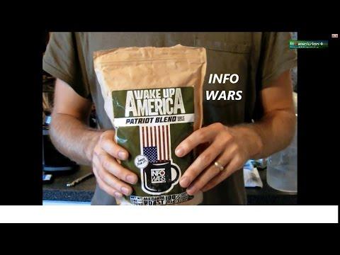 Review of InfoWars Coffee Alex Jones Patriot Blend Bulletproof Style