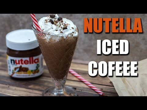 Healthy NUTELLA Iced Coffee Recipe