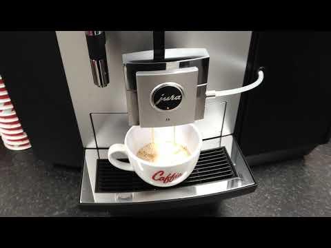 Jura JX8 Coffee Machine Demo