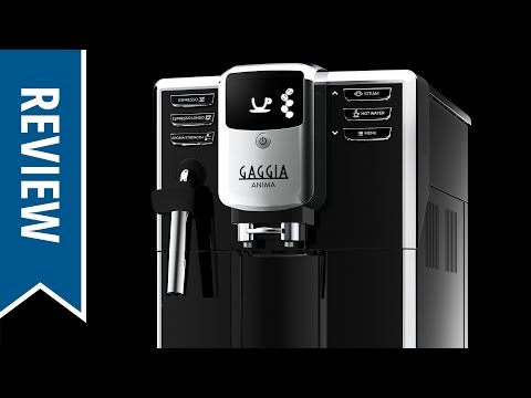 Review: Gaggia Anima Super-Automatic Espresso Machine