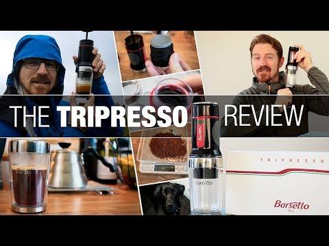 TRIPRESSO – Portable Espresso Machine Review & Demo