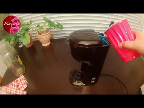 2018 walmart sell MAINSTAYS single serve coffee maker review
