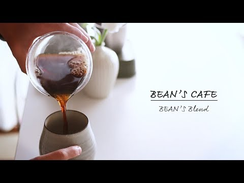 Coffee Review: BEAN'S Cafe BEANS'S Blend 福岡小笹にあるBEANS'Sのブレンド感想