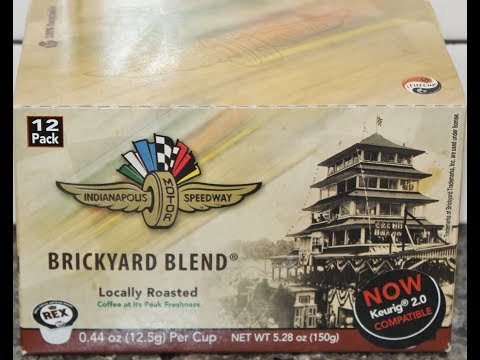 Rex Roasting Co. Indianapolis Motor Speedway Brickyard Blend Coffee Review