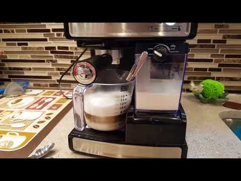 Mr Coffee ECMP 1000 Espresso Cappuccino Cafe Barista maker review How To