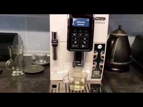 Test Delonghi Dinamica ecam 350.35 review Bean to cup Coffee Machine