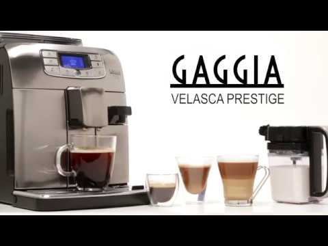 Gaggia Velasca Prestige Full Automatic Coffee & Espresso Machine