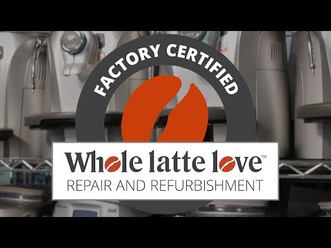 Factory Certified Refurbished Coffee & Espresso Machines