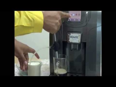 Sigmatic Professional Coffee Maker SCFM1800Silver – Demo