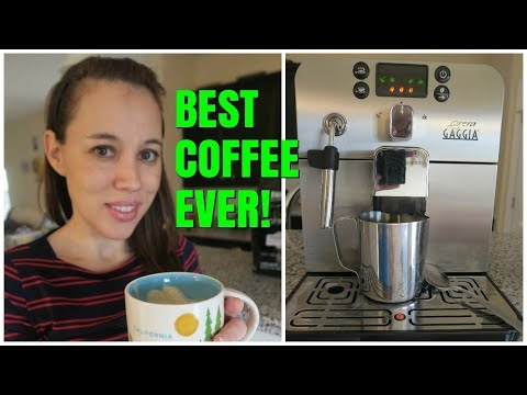How to Use the Gaggia Brera Super Automatic Espresso Machine for Latte Drinks