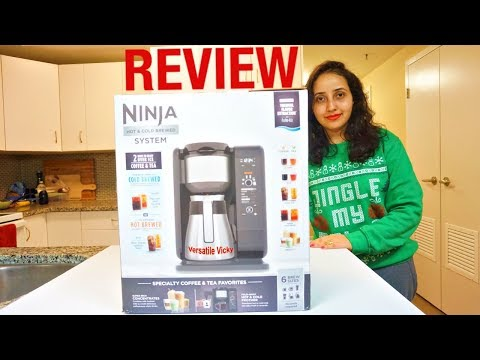 Ninja Hot and Cold Brew | Ninja Coffee Bar Review 2018