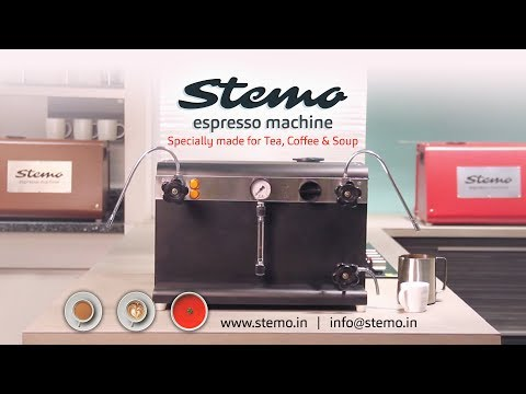 Stemo Espresso Machine (Hindi) Demonstration