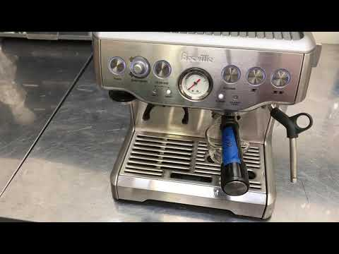 Breville Espresso Machine: Report of Low Pressure on Gauge & Low Steam Pressure #1601.2