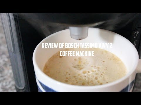 Review of Bosch Tassimo Vivy 2 Coffee Machine