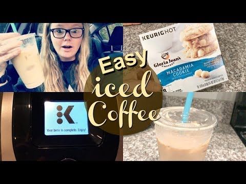 HOW TO MAKE ICED COFFEE AT HOME | MY EASY ICED COFFEE RECIPE