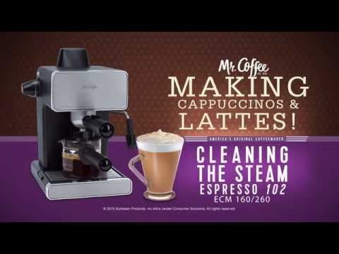Mr. Coffee® Espresso Machines. –  Cleaning  your Espresso Maker