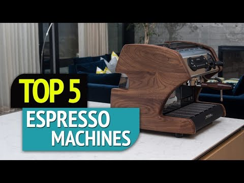 TOP 5: Espresso Machines 2018