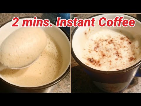 2 minute coffee | Instant 2 minute recipe|Instant coffee | Coffee recipe |Homemade coffee| eatinghub