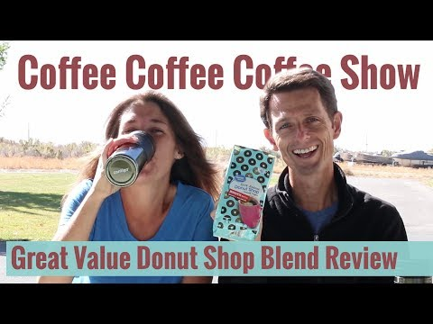 Great Value Donut Shop Coffee Review
