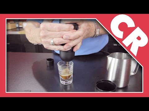 Wacaco Minipresso Portable Espresso Machine | Crew Review