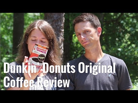 Dunkin Donuts Original Coffee Review