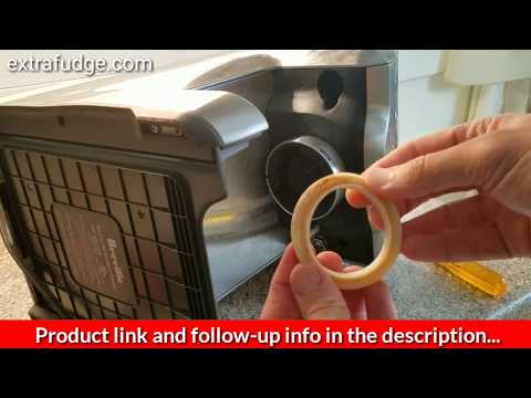 How to replace gasket on Breville espresso machine