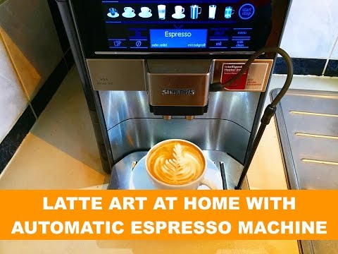 LATTE ART AT HOME WITH AUTOMATIC ESPRESSO MACHINE – COFFEE ARTIST