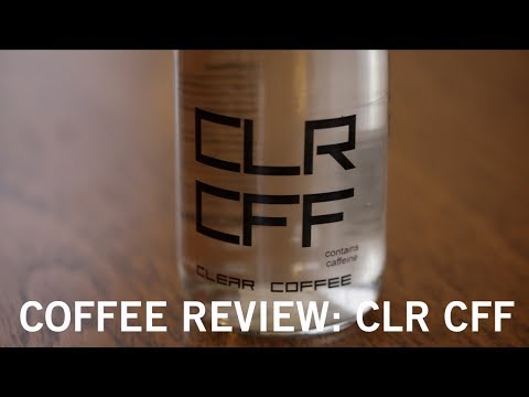 Coffee Review: CLR CFF – Clear Coffee?!