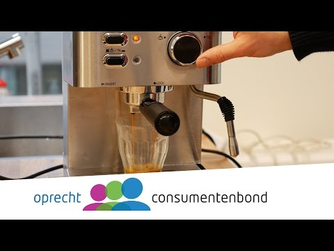 Espressomachines – Kooptips (Consumentenbond)